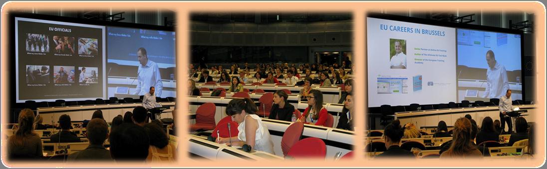 Presentation to European Commission trainees, 28 June 2013