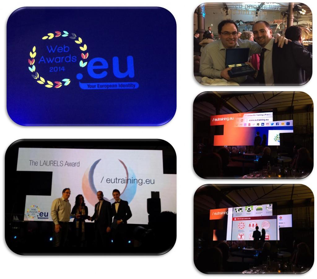 Online EU Training just won a European award