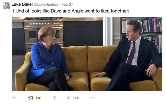 Ikea Twitter Angela David Luke Baker