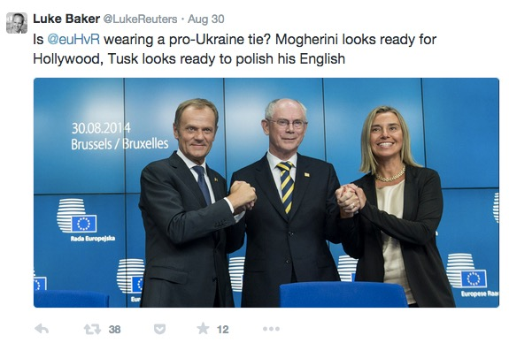 Luke EU trio funny caption