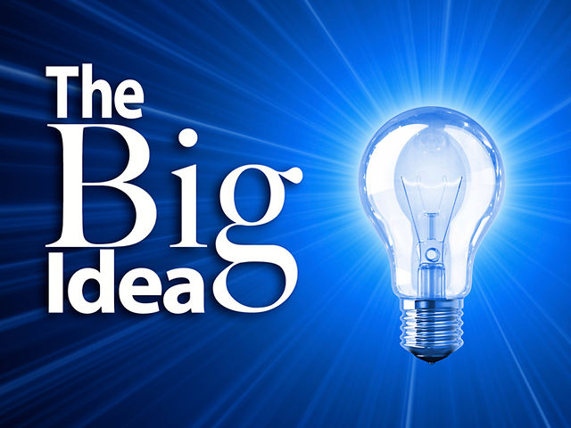 Big idea - entrepeneurship and startups