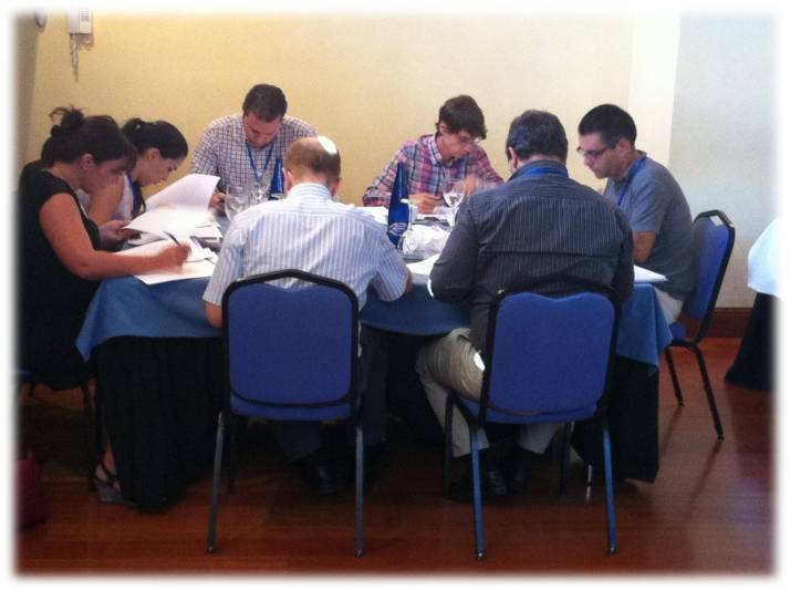 EPSO Assessment Center training in Madrid (September 2012)