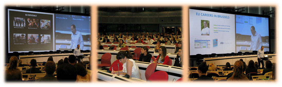 Presentation to European Commission trainees, 28 June 2013