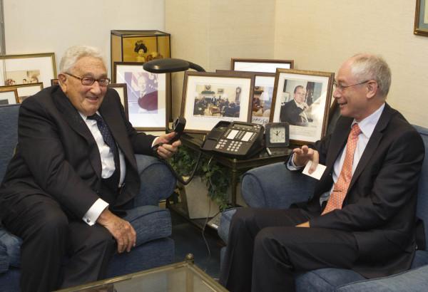 Kissinger Van Rompuy EU call